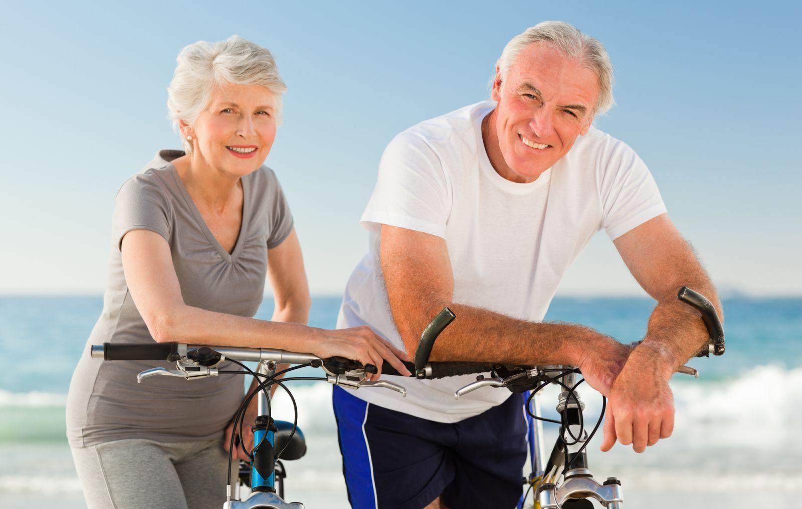 Od starzenia się można uciec na rowerze